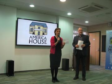 Георгій Касьянов та Катерина Cмаглій, директор Київського офісу Інституту Кеннана