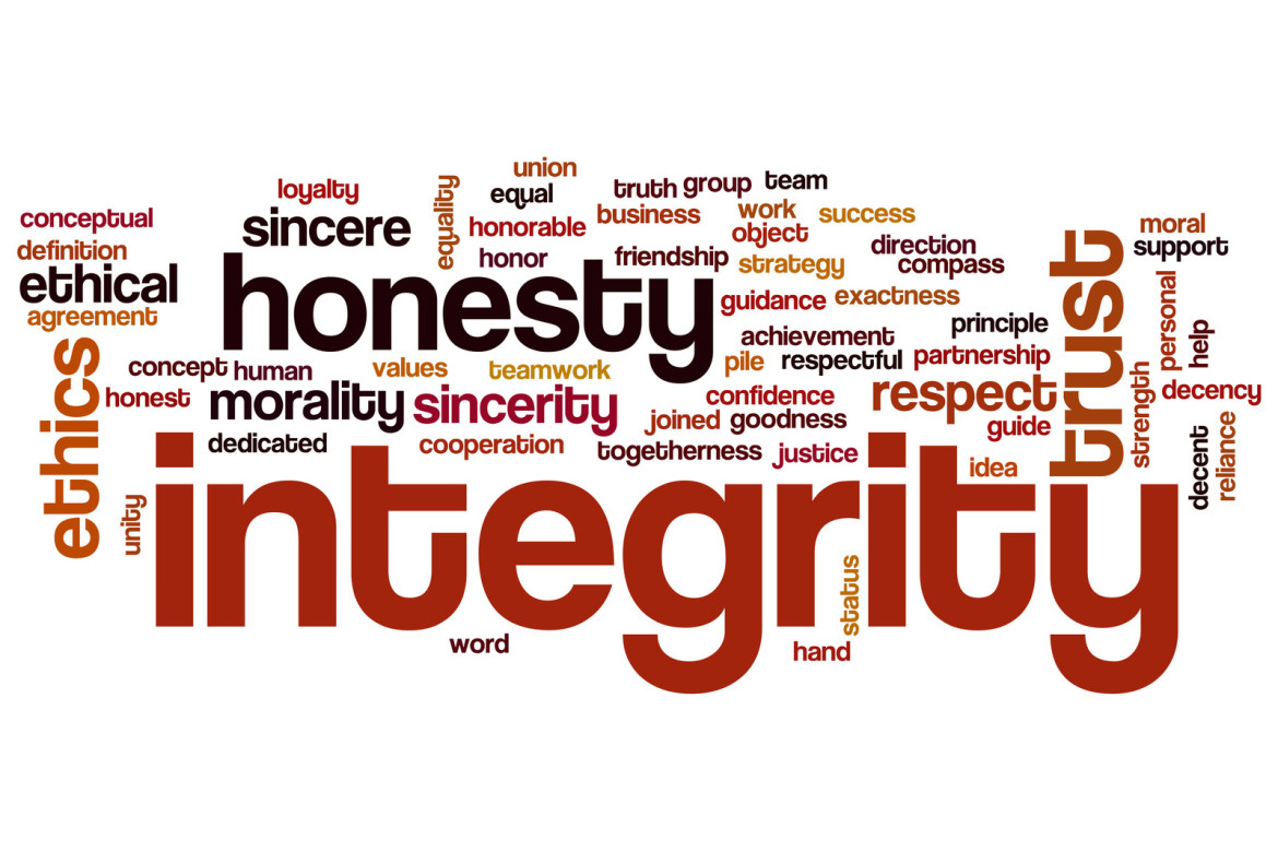 integrity morality Abstract many are tempted to separate affective and moral dimensions of learning from cognitive dimensions they argue that the cognitive and affective are obviously separate since many intelligent, well-educated people lack moral insight or sensitivity and many less intelligent, poorly educated, or uneducated people are morally good.
