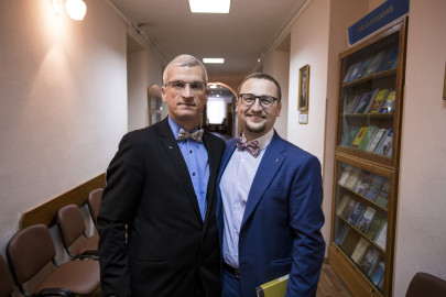 Dr. Gaabriel Tavits, University of Tartu and Dr. Mykhailo Shumylo, Koretsky Institute of State and Law